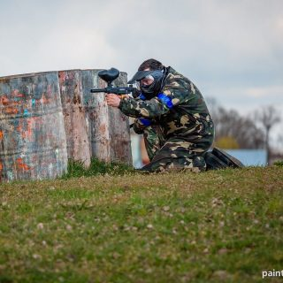 Paintball - kamuflaż