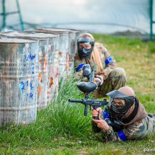 Paintball za osłoną